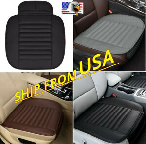 Pu Leather Car Seat Cover Mat Front Chair Cushion Pad Protector Fits Honda Civic