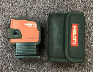 Hilti Pmp45 Plumb 5 point Self leveling Laser With Carry Case Free Shipping
