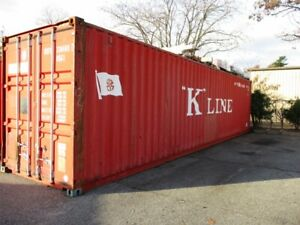 40ft High Cube Storage Containers