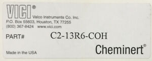 Vici Cheminert C2 13r6 coh Rotor Seal For Hplc Ms Port In Factory Packaging