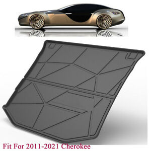 Car Trunk Boot Liner Cargo Tray Floor Mat Fit For Jeep 2012 2021grand Cherokee