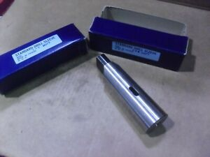 Two Standard Drill Sleeves 1 X 5 Mt