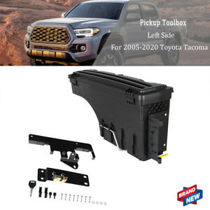 Driver Left Side Truck Bed Swing Case Storage Box For 05 2020 Toyota Tacoma