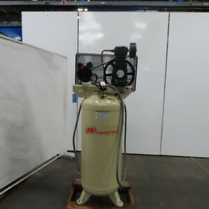 Ingersoll Rand Ss5l5 5hp Vertical Single Stage Air Compressor 60 Gallon 230v 1ph