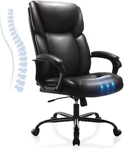Executive Office Desk Chair High Back Adjustable Ergonomic Managerial Rolling Sw