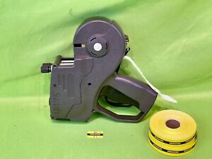 Monarch Paxar 1155 2 line Price Tag Label Gun W Two Rolls Of Labels Works