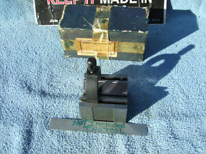 V block And Clamp Import Used Engraved Toolmaker Machinist Die Maker