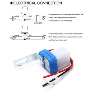 Automatic On Off Photocell Street Lamp Light Switch Controller Dc Ac 220v Swi O