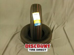 2 Used St 205 75 R14 Trailer King Rst 75r R14 Tires