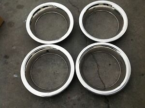 For Dodge Chalenger Charger New 15 Inch Rally Wheel Trim Rings 3002 Am 15