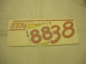 Oliver 88 Standard Tractor Decal Set Red Numbers New Free Shipping