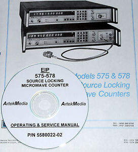 Eip 575 578 Microwave Counter Operator Service Manual