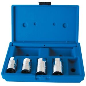 4 Piece Metric Stud Remover Installer Set Ass201 Brand New
