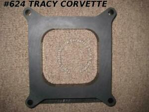 1965 Up Moroso 64940 1 Thick Plastic Square Bore Carb Spacer Holley Edelbrock