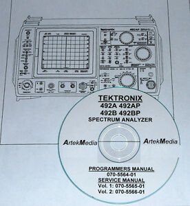Tek 492a 492ap 492b 492bp Programming Service Manuals