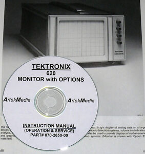 Tektronix 620 Monitor With Options Service Ops Manual
