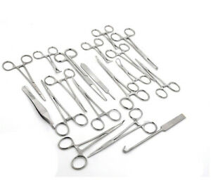 48 Pcs O r Premium Grade Canine Spay Pack Veterinary Surgical Instruments