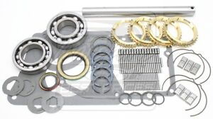 Fits Jeep Deluxe 4 Spd T176 Transmission Rebuild Kit W Spring And Keys C S Pin
