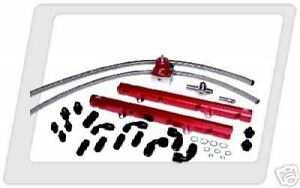 Aeromotive 86 95 Ford Mustang 5 0 Rail System 14102
