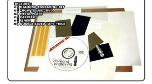 Diamond Engraving Kit For Anagraph Pd Graphtec Craftrobo Vinyl Cutter Plotter