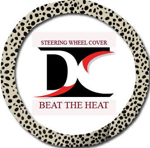 Cute Steering Wheel Cover In Lady Bug Tan Cool soft