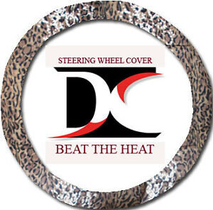Leopard Tan Steering Wheel Cover To Match Cool Soft