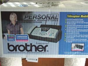 Brother Personal 575 Plain paper Fax Phone Copier