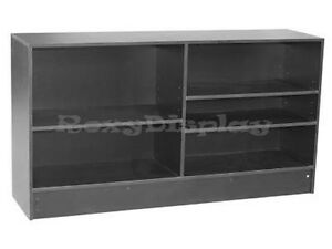 70 Wrap Counter Black Showcase Display Store Fixture Knocked Down cw6bk