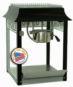 Commercial Theater Popcorn Machine Popper Maker Paragon 1911 4 Oz Black