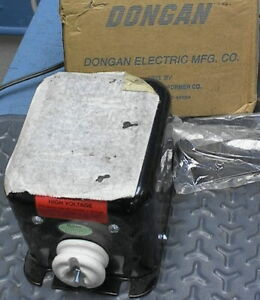 Dongan Ignition Transformer A06 sa6 120 To 6000 Volts