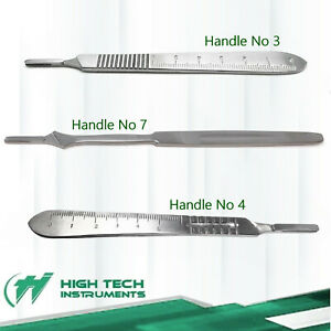 60 Asortd Scalpel Handles 3 4 7 Surgical Instruments