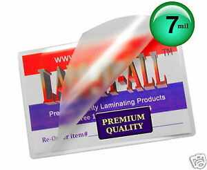 Lam it all Hot Laminating Pouches 12 X 15 inch Brochure pk Of 100 Clear 7 Mil