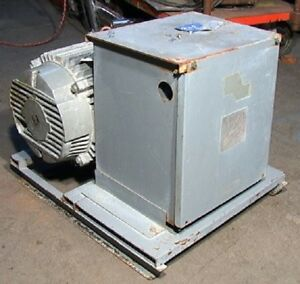 20hp 230 Volt Steelman H A S Rotary 3 phase Converter