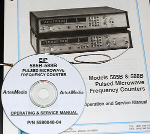 Eip 585b 588b Frequency Counter Operating Service Manual