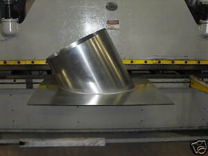 24 Dia Pitched Roof Curb For Paint Spray Booth