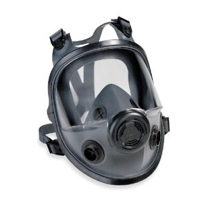 Honeywell North 5400 Series Full Facepiece Respirator Mask 54001 Med Large