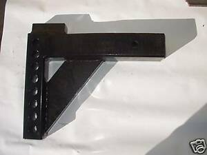 Adjustable Weight Distribution Trailer Hitch Shank 5 5 8 Drop 2 1 2 Recievers