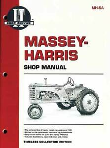 I t Manual For Massey harris Covers 21 23 44 555 More