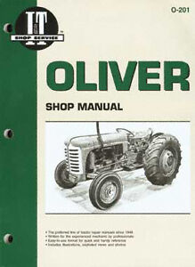 I t Oliver Manual Covers Models 1600 1755 1850 More