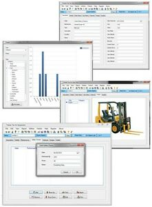Tractor Backhoe Hay Harverster Equipment Safety Service More Tracking Software