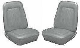1967 68 Camaro Front Rear Seat Covers Std 67 1968
