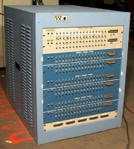 256 3 position Switches In A Short 19 Rack Cabinet Wow