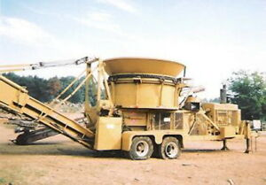 W h o P1043shd W h o Tub Grinder Wood Waste Recycling