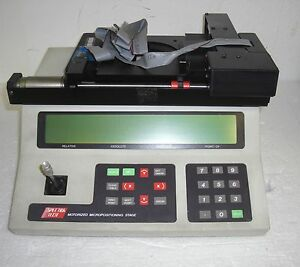 Spectra Tech Motorized Micropositioning 0042 445 12 4626 Stage