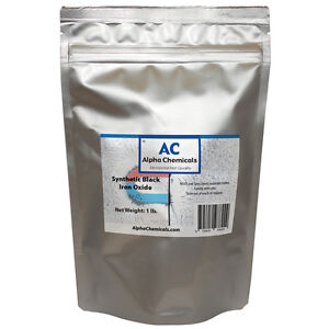 1 Lb Synthetic Black Iron Oxide Fe3o4 1 Micron Particle Size