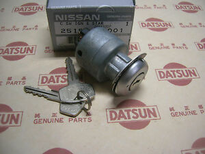 Datsun 1200 Ignition Switch Early 4 Tabs fits Nissan B110 B120 Sunny Truck Ute