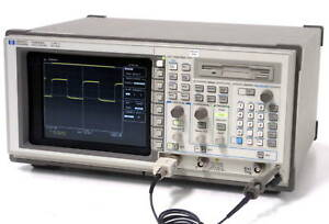 Hp Agilent Keysight 54522c Oscilloscope 500mhz 2 Channels 2 Gs s