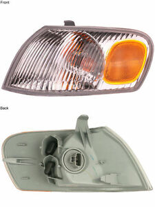 New Left Corner Light Turn Signal Lamp Fits 1998 2000 Toyota Corolla Driver Side
