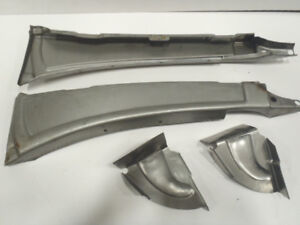 Ford Model A Open Car Cowl Post Brace Set 1928 1929