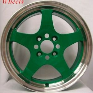16 Rota J Special Wheel Tire 4x100 Civic Crx Del So Fit